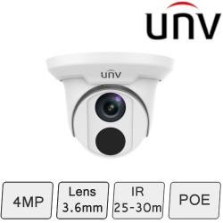 4MP IP Turret Camera | UNV
