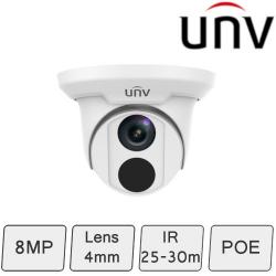 Turret Dome Camera (8MP/4K, Smart, True WDR)