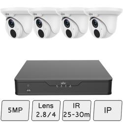 IP 5MP Turret Camera Kit (Smart)