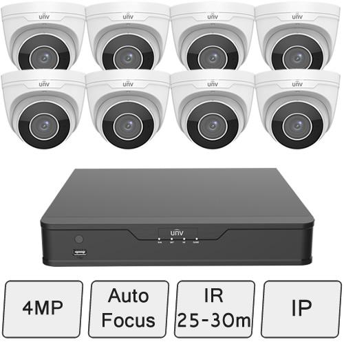 4MP Eyeball Camera Kit | UniView CCTV System