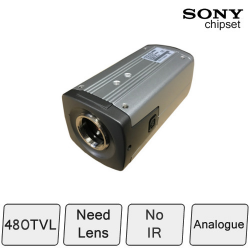Colour Box Camera with Audio