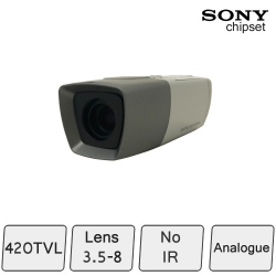 Colour Camera with Vari-Focal Lens