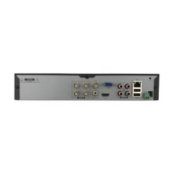 Rear Ports of Phoenix Hybrid 4 Camera DVR
