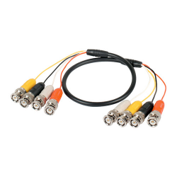 BNC Patch Lead (4 BNC to 4 BNC Male), DVR Patch Lead