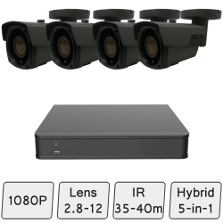Long-Range Security CCTV System
