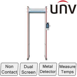 Temperature Measurement and Metal Detector Security Gate