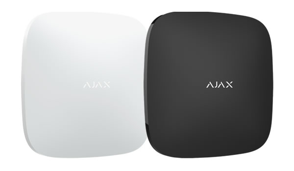 Ajax Central Hub, available in black and white