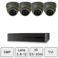 Eyeball Dome Camera Kit  | CCTV Dome Kit