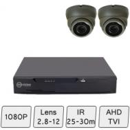 Eyeball Dome Camera Kit | CCTV Dome Camera Kit