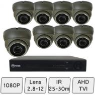 Eyeball Dome Camera Kit | CCT Kit