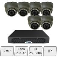 Eyeball Dome Camera Kit | IP Camera System