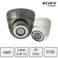 Vortec IP Dome Camera | Vandal Proof IP Camera (pro)