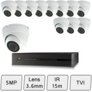 Discreet Dome Camera Kit | 5MP CCTV Kit