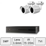 Mini Bullet Camera Kit | CCTV Kit for Home