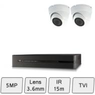 Discreet Dome Camera Kit | HD Dome CCTV Kit