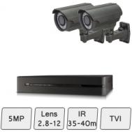 Mid Range Camera System | 5MP HD Security Cameras