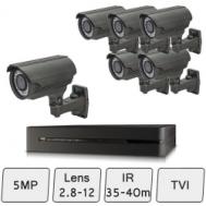 Mid Range Camera Kit    HD 5MP CCTV Kit
