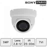 Advance Eyeball Dome Camera | 5MP CCTV Camera