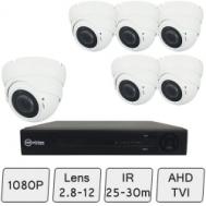 Eyeball Dome Camera Kit | HD CCTV Dome Camera Kit