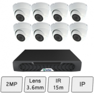 Discreet Dome Camera Kit | IP Security Camera Kit