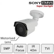 Motorised 5MP Day Night Camera | Sony Starvis Chipset