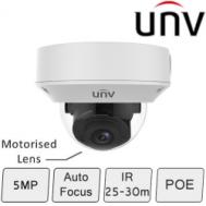 UNV IP Dome Camera (5MP, Starview, True WDR)