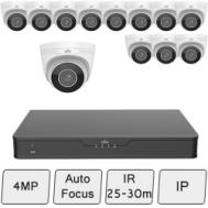 Motorised Eyeball Camera Kit (Smart) | Uniview