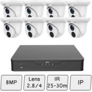 4K UHD Turret Camera Kit (Smart) | UNV