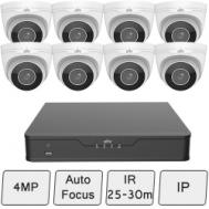 4MP Eyeball CCTV Kit (Smart) | UNV Kit