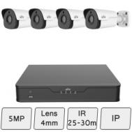 5MP UNV Security Camera Kit (Smart)