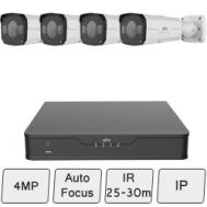 4MP Bullet Camera Kit (Vandal Resistant)
