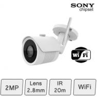Mini Wifi IP Bullet Camera (2MP) | Sony sensor