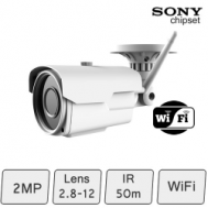 Wifi IP Bullet Camera (2MP)   Sony sensor