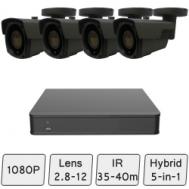 Long-Range Security CCTV System
