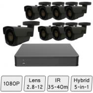 Long-Range HD Security System