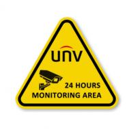 UNV Warning Sign Sticker