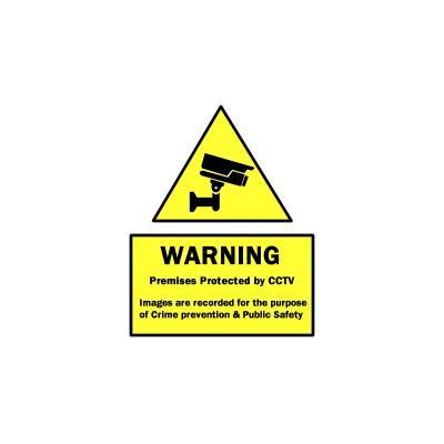 CCTV Warning Signs