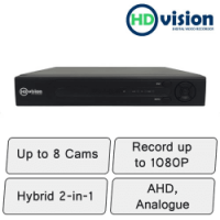 HD-Vision DVR | 8 Channel DVR Recorder