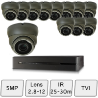 Eyeball Dome Camera Kit  | 5MP CCTV Cameras
