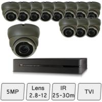 Eyeball Dome Camera Kit  | 5MP CCTV Cameras