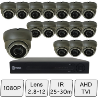 Eyeball Dome Camera Kit | HD CCTV Kit