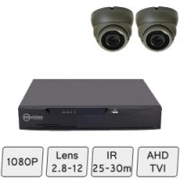 Eyeball Dome Camera Kit | CCTV Dome Camera Kit