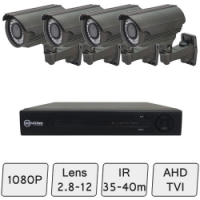 Mid Range HD Camera System  | Day Night Security Cameras