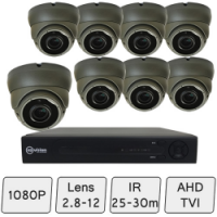 Eyeball Dome Camera Kit | CCT Kit