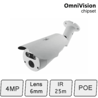 HD-IP Camera (4MP, IR 30m, POE)