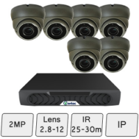 Eyeball Dome Camera Kit | IP Camera System