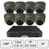 Eyeball Dome Camera Kit | IP CCTV Dome Kit