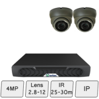 Eyeball Dome Camera Kit | IP Dome Camera Kit