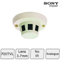 High Resolution Smoke Detector Colour Camera
