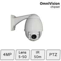 IP PTZ Camera (4MP, 10x Zoom)